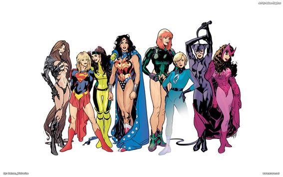 Resultado de imagem para mulheres nos quadrinhos