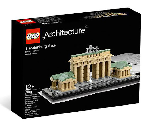 LEGO Architecture 21011 Brandenburg Gate (Berlin, Đức)