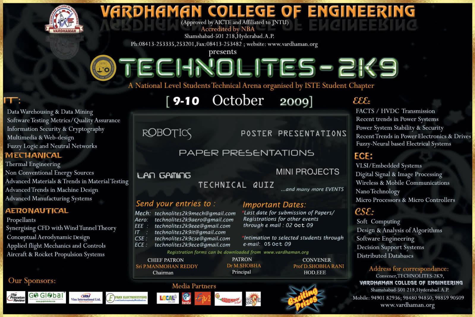 Poster design for college fest - Sample Poster Designs