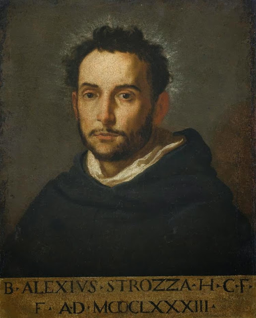 Jacopo Vignali - Portrait of Alessandro Strozzi called Beato Alessio