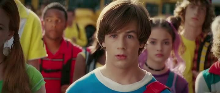 Screen Shot Of Hollywood Movie Sky High (2005) In Hindi English Full Movie Free Download And Watch Online at Alldownloads4u.Com