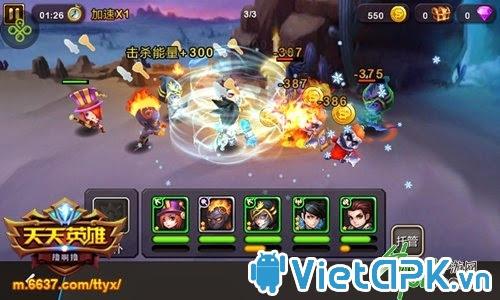 Game Thiên Thiên Anh Hùng sẽ ra mắt vào tháng 11