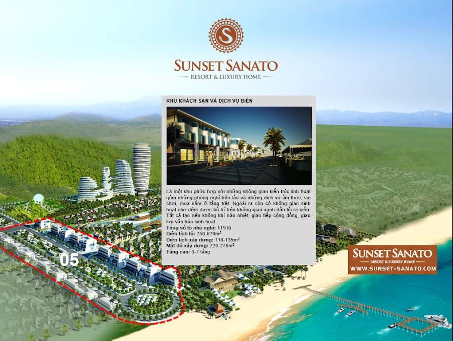 Khu khách sạn và dịch vụ biển