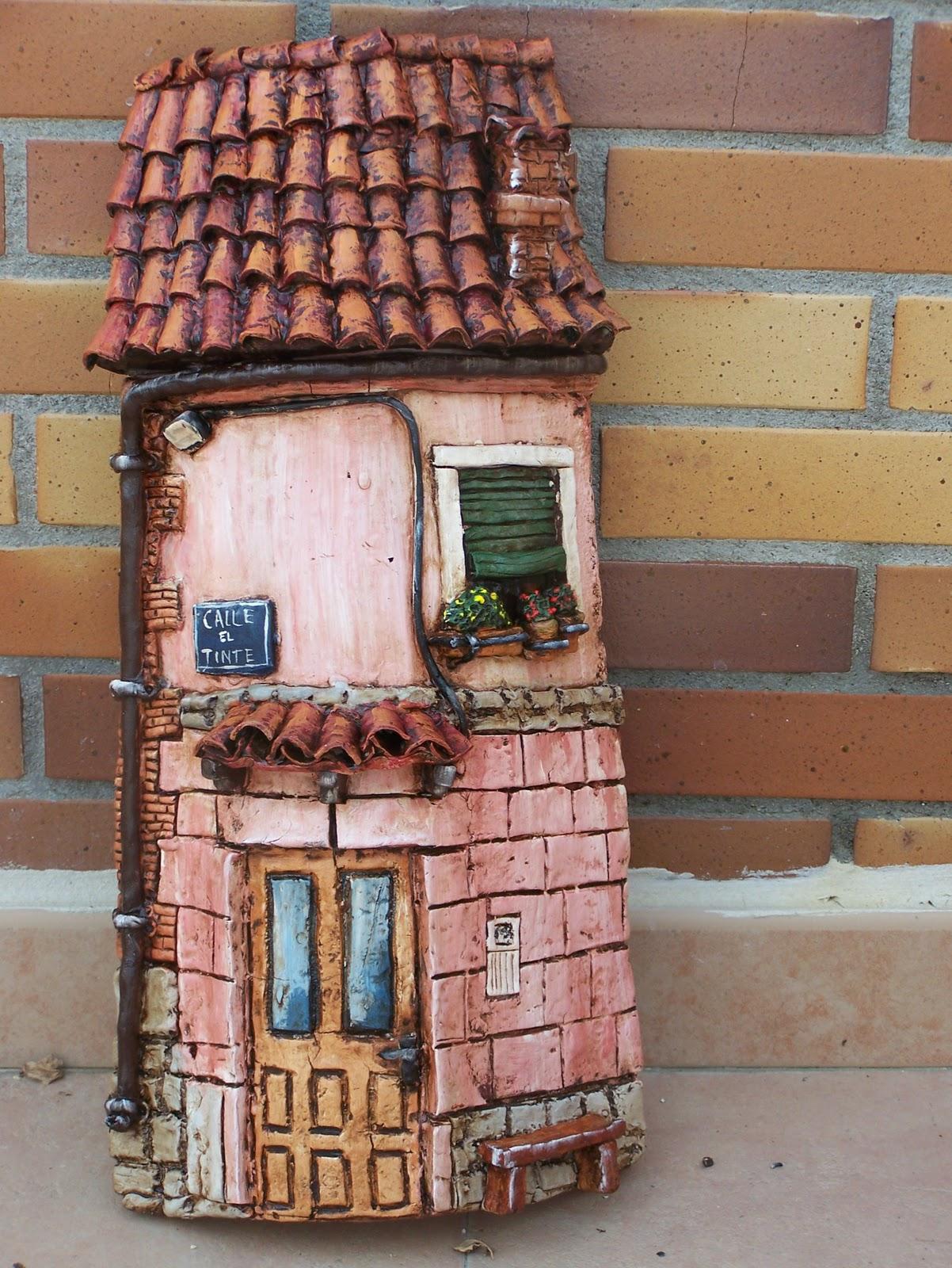 Kekotes tejas decoradas artesanales for Tejados sin tejas