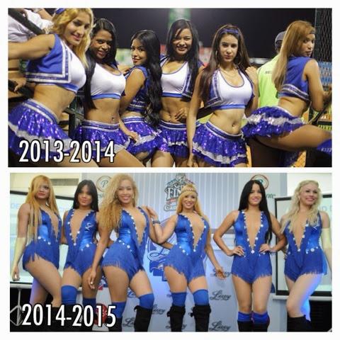 """Nuevas bailarinas del Licey en el """"ojo del huracán"""""""