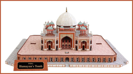 Tomb of Humayun Papercraft