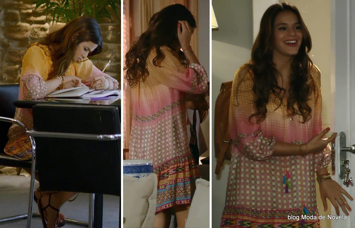 moda da novela Em Família - look da Luiza dia 30 de abril