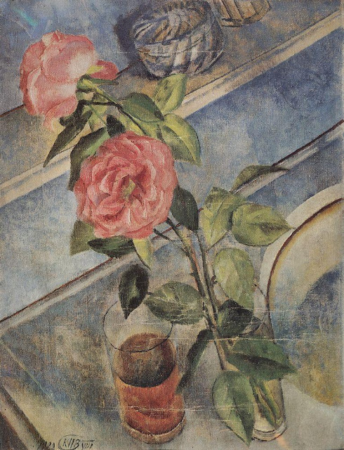 Kuzma Petrov-Vodkin - Still life with roses