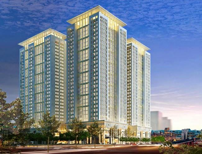 Phối cảnh dự án chung cư HH1 Linh Đàm