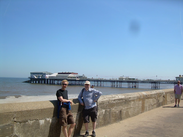 Fred and Sam at Cromer