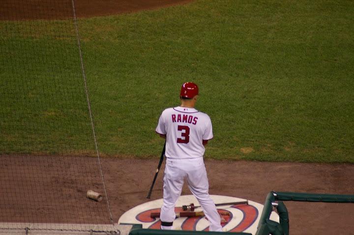 Ramos at bat