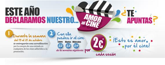 La Fiesta del Cine, Octubre 2012. Al cine por dos euros