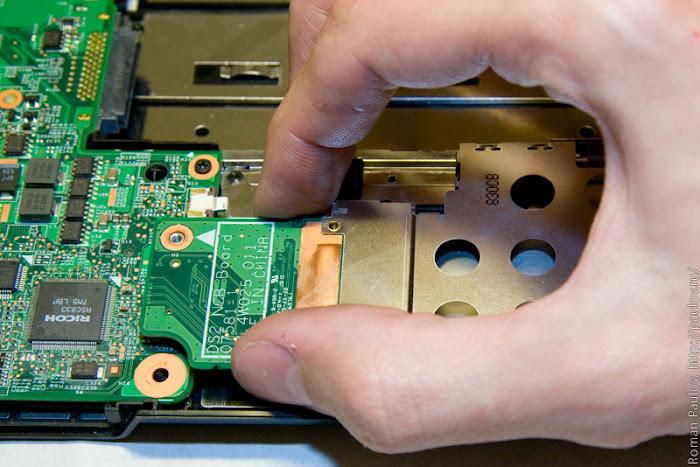 Как разобрать ноутбук Dell Inspiron 1525 38