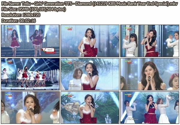 Download [Perf] Girls' Generation-TTS – Diamond + Holler