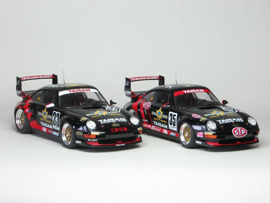 tamiya taisan starcard porsche 911 gt2 1995 1 24 car forums and automotive. Black Bedroom Furniture Sets. Home Design Ideas