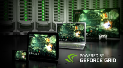 Nvidia GeForce GRID - Cloud Gaming platform