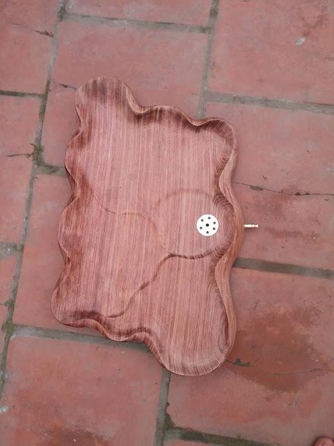 Khay trà gỗ mẫu KT18