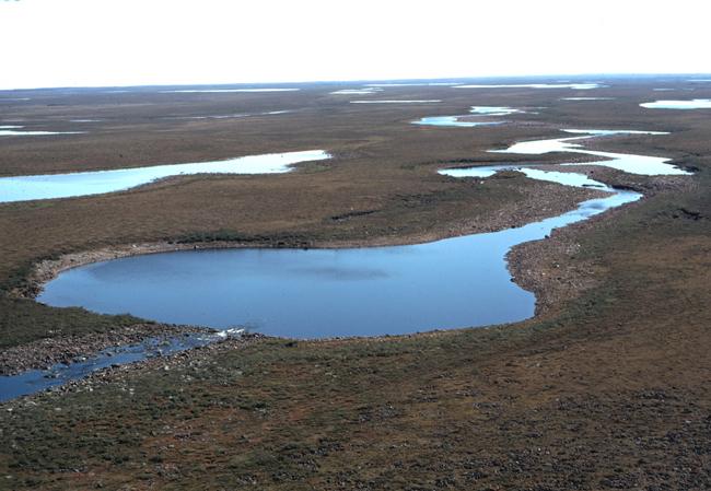Los lagos árticos termikarst estabilizan el calentamiento de la atmósfera