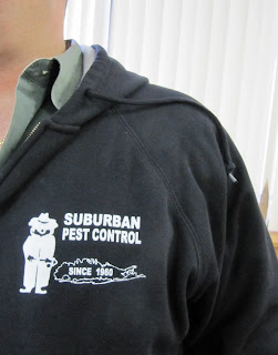 Suburban Exterminating technicians always arrive to your home in a