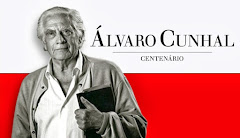 Plakatausschnitt: Porträt Álvaro Cunhal.