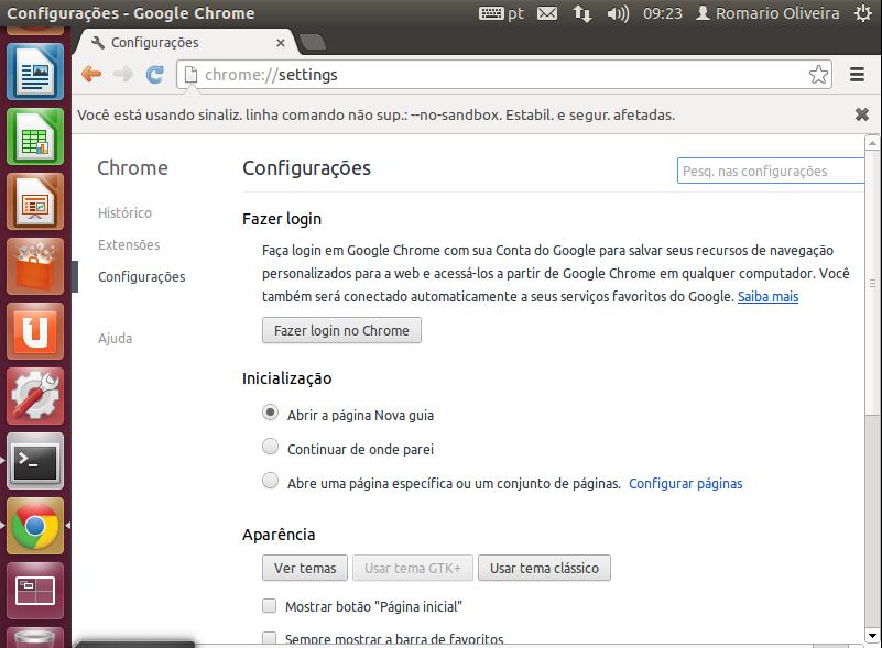 Google Chrome no se ejecuta en Ubuntu - Google Chrome Trợ giúp