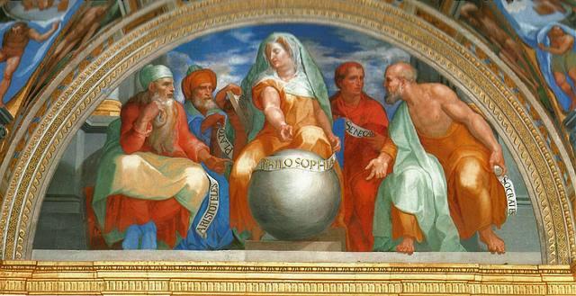 Pellegrino Tibaldi - Filosofía.Sócrates, Platón, Aristóteles, Séneca