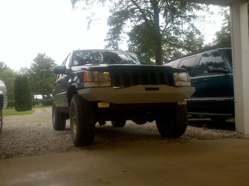 OWSIN/s ZJ Bumper build | Jeep zj, Jeep grand cherokee zj