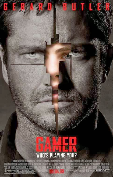 Poster Of Gamer (2009) Full Movie Hindi Dubbed Free Download Watch Online At Alldownloads4u.Com