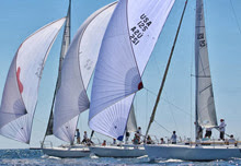 J/105s sailing J/Fest in San Diego