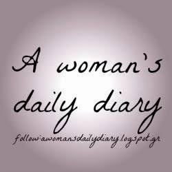 A woman's daily diary