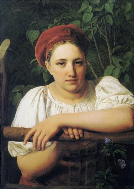 Alexei Venetsianov - Peasant Girl