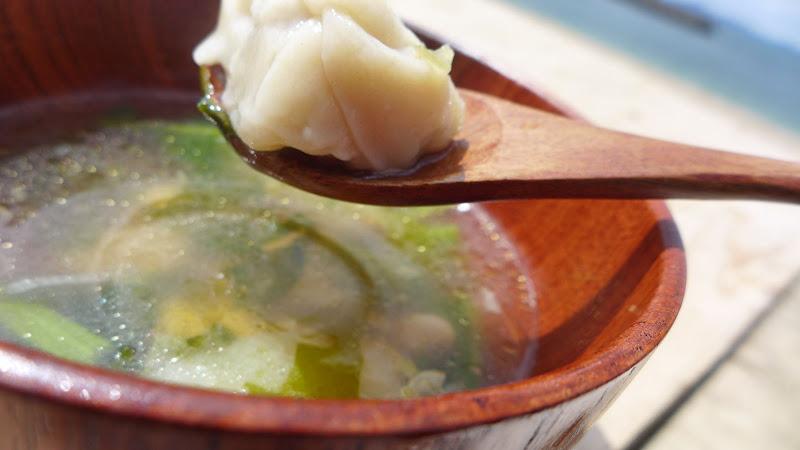 島スープ(画像は沙弥島の亀の手スープ)