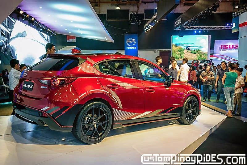 All-New BM Mazda 3 Custom Pinoy Rides Car Photography Manila Philippines Philip Aragones pic3