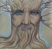 ζωγραφική δεντράνθρωπος,κρόνιος,μύθος και ιστορία,painting tree men, Cronian, myth and history