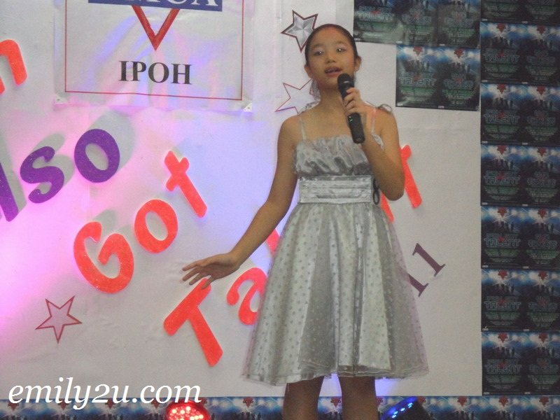 Ipoh Also Got Talent 2011 preliminary round