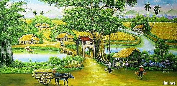 thơ tình yêu làng quê