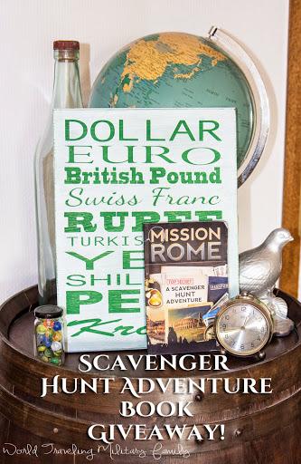 Scavenger Hunt Adventure Book Giveaway