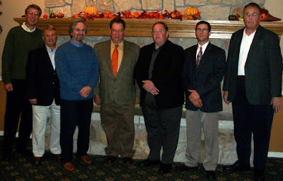 Left to right: Kevin Kirk, Bob Fiscus, Rick Guerra, Jack Susko, Ed Bailey, Jeff Sangregorio, Rick Merz
