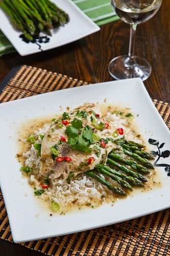 Tilapia Baked in Thai Green Curry Recipe