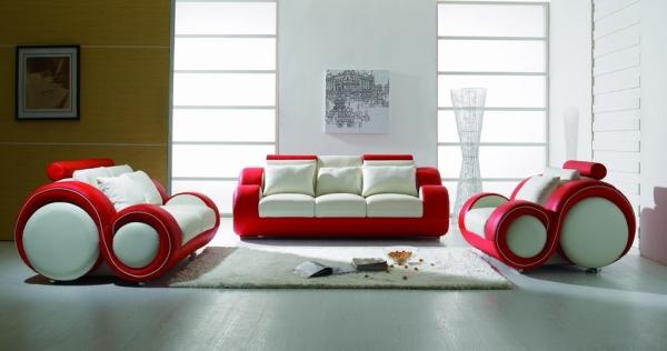 Divani 3 posti divano 2 posti moderno pelle sofa soggiorno - Dimensioni divano 3 posti ...