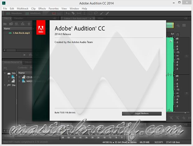 Adobe Audition CC 2014 download mac