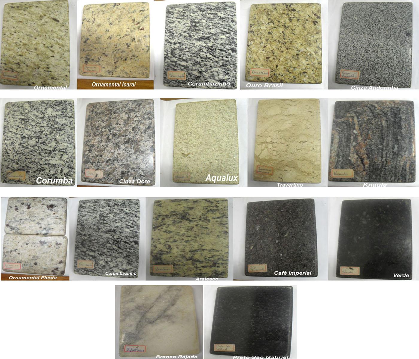 Pitanga m rmores e granitos mostru rio de pedras - Tipos de marmoles ...