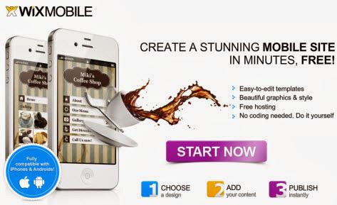 เว็บไซต์สำหรับช่วยคุณในการออกแบบ templates เว็บไซต์ในมือถือ
