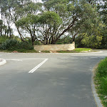 Intersection of Pistol Club Rd and Gold Club Rd near Botany Bay National Park (310874)