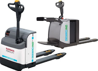 Nissan Pallet Mover - Power Pallet Trucks