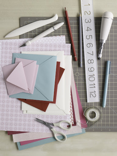 You'll also find our basic card making tips in the story including some of our favorite tools and materials.