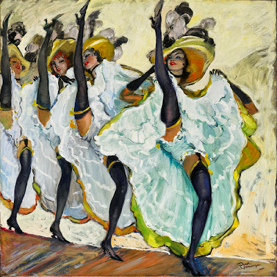 Jean-Gabriel Domergue - French Can Can