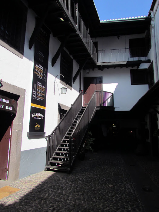 Madeira wine old building