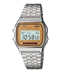 Jam Tangan Wanita Stainless Gold Latar Hitam Casio Standard : LTP-V300G-1A