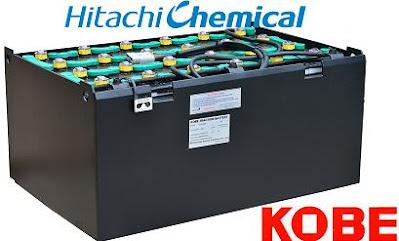Bình acquy Hitachi 48V 280AH 320AH 370AH